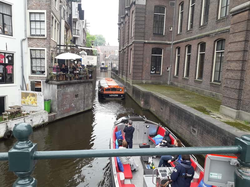 Canals Amsterdam boat trips