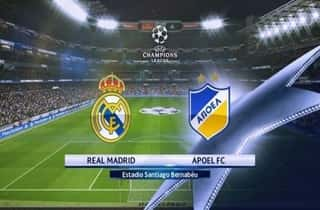 Apoel Real Madrid. Another one time APOEL is playing with Real Madrid.
