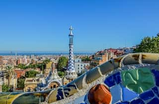 Beautiful Barcelona from above | City Tours in Europe
