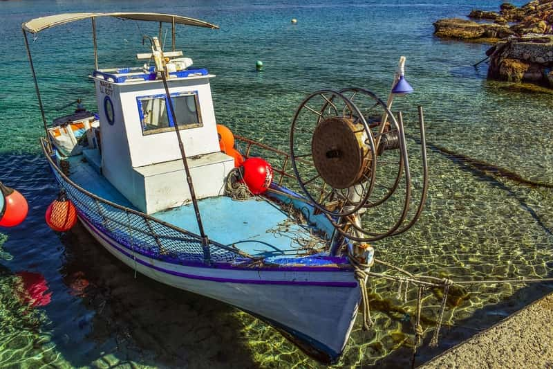 fishing boat Cyprus