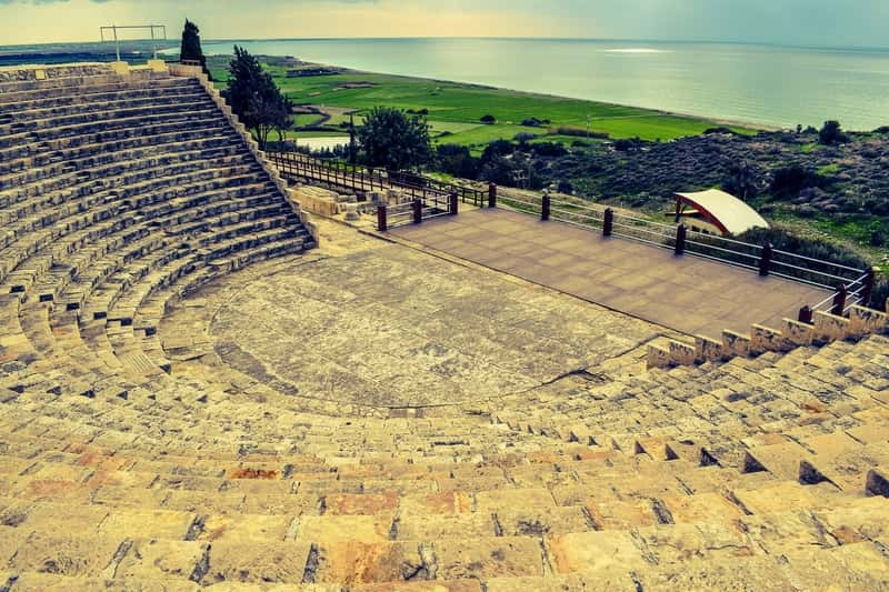 Kourion archaeological place in Cyprus
