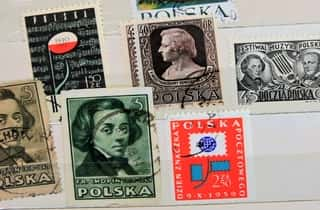 Frederyck Chopin stamps - Poland
