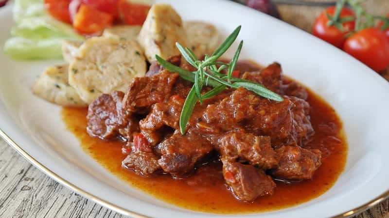 Polish food - Goulash