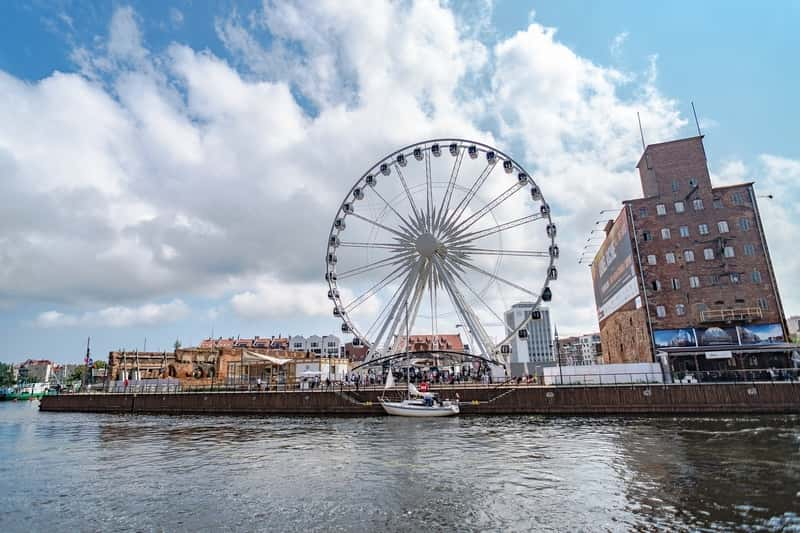 Gdansk in Poland - View From the Baltic Sea. Malgork, Gdansk Tours from Warsaw