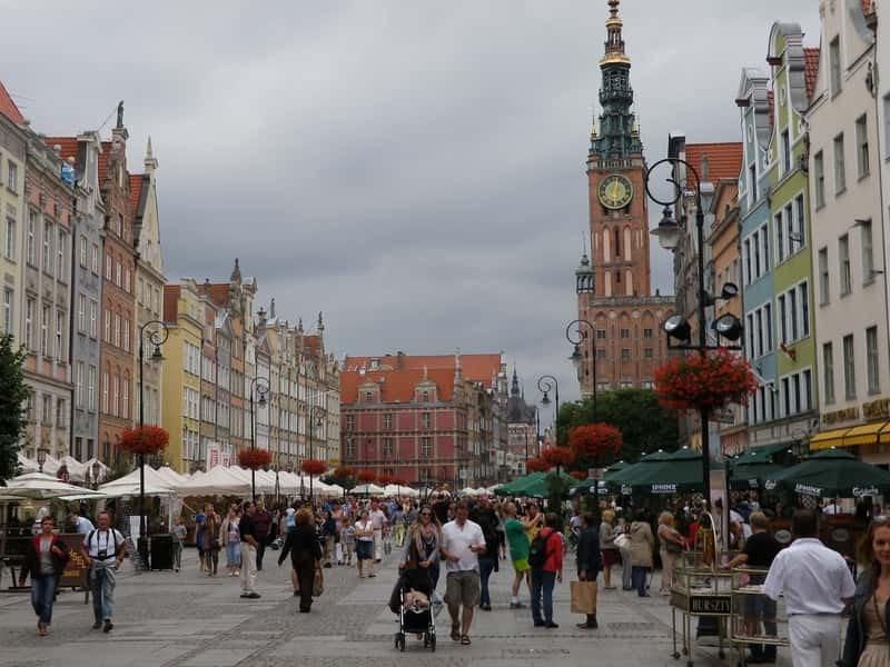 Gdansk Historic Old Town