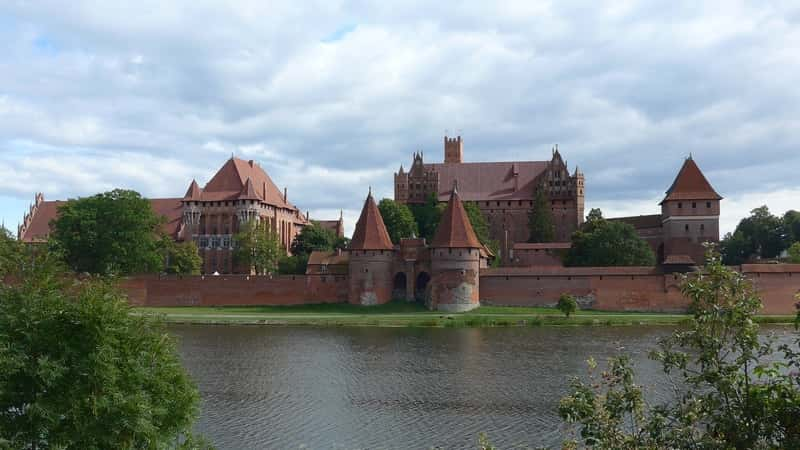 Malbork Castle External View