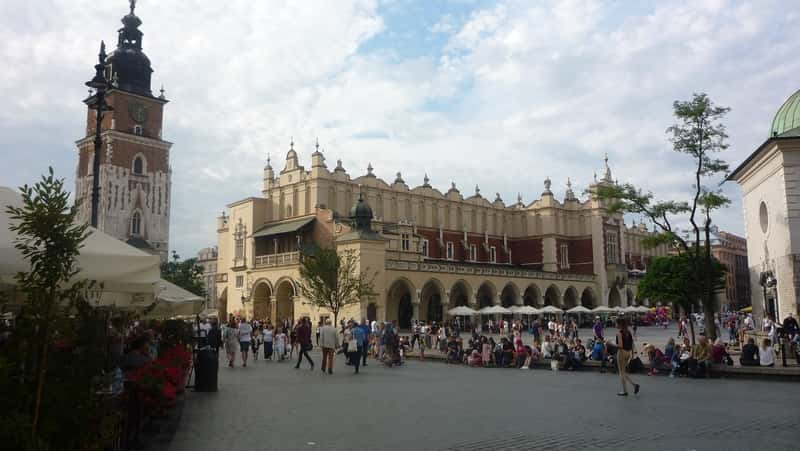Krakow Cloth Hall - Sukiennice. Main Market Square - Best of Poland. Krakow Tours from Warsaw