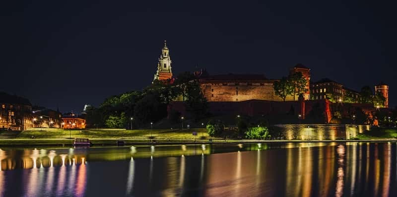 Wawel castle Night Have Fun In Cracow