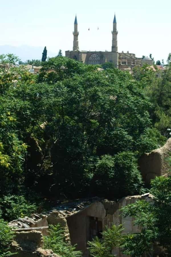 The Church of Ayia Sophia as you can see from the free side of Nicosia