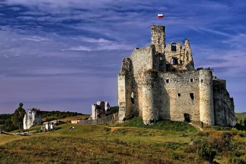 Mirow Castle in Poland. There are many beautiful castles around the Poland area you can see
