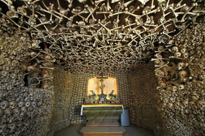 Chermna Skulls Chapel in Poland