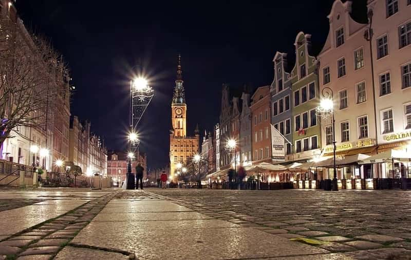 Gdansk, Historic City. Long Market Square