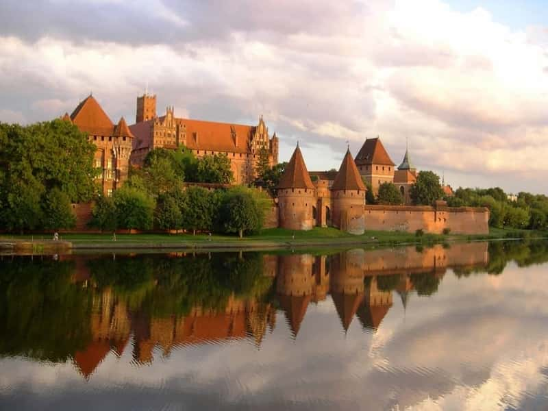 Malbork castle in Poland - An UNESCO world heritage site