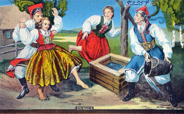 Śmigus Dyngus wet Monday Easter tradition in Poland