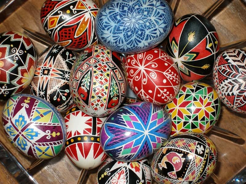 traditional easter eggs pysanka easter egg pysanky