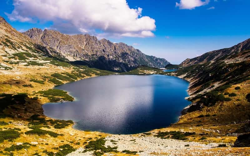 Pond Lake Poland Tatry Buried Valley Of Five Ponds 800