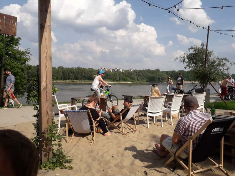 grunt i woda wisla - Bar on the Wisla River - Specially for kids
